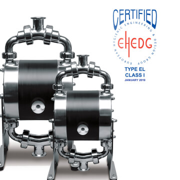 Pumps with EHEDG Certification