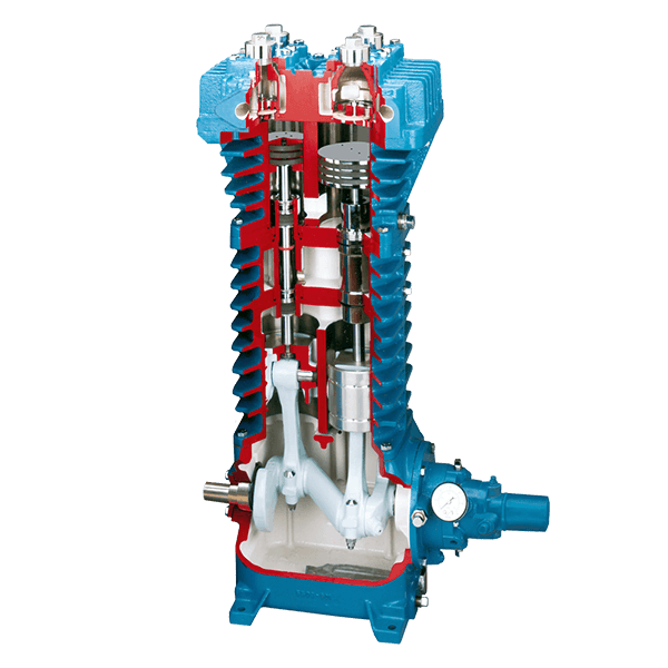 HD Industrial Gas Compressor Cutaway