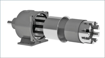 High-Torque and Compact Magnetic Coupling