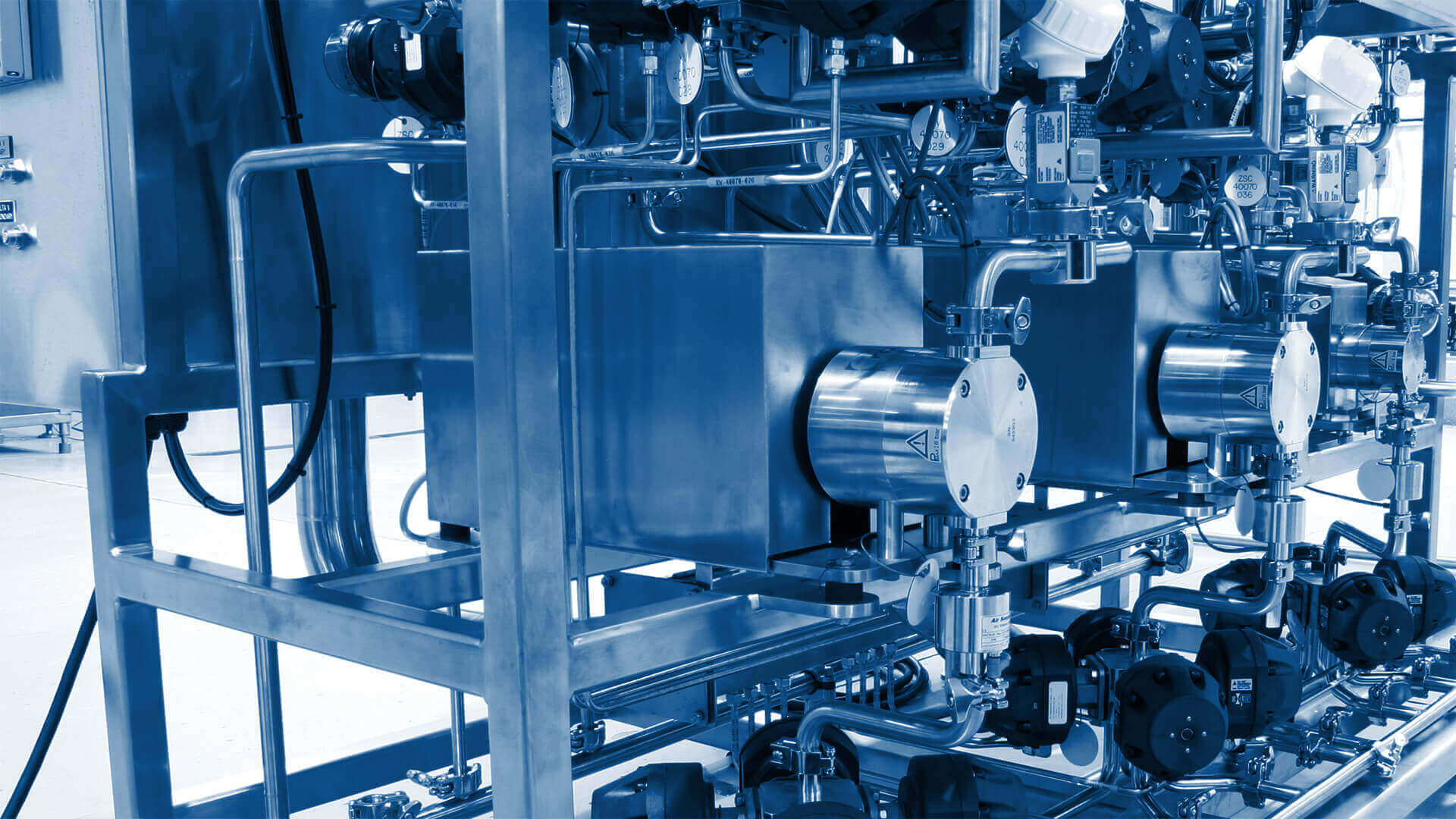 Quattroflow pumps in a BioPharma application