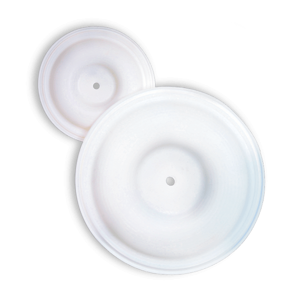 Reduced-Stoke PTFE Diaphragm